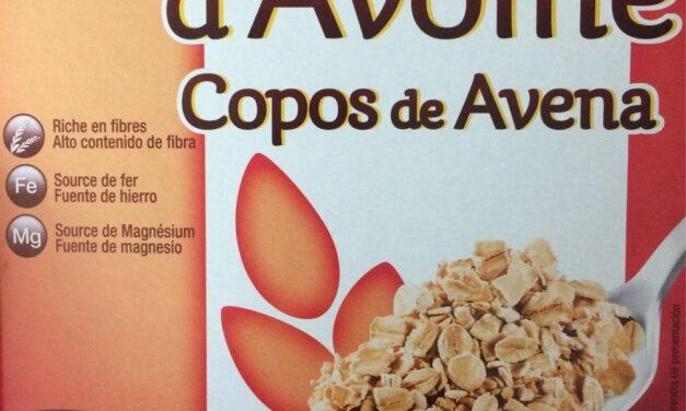 CEREALES DE FIBRA CON COPOS DE AVENA ALCAMPO 500 gr