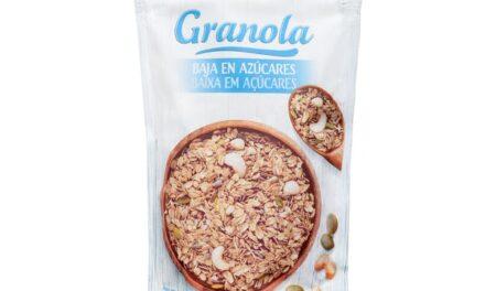 GRANOLA CON BAJO CONTENIDO DE AZUCAR (CEREALES Y SEMILLAS TOSTADOS CON FRUTOS SECOS) mercadona